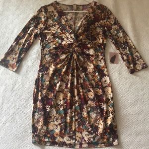 Forever 21 contemporary floral dress size XL